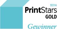 PrintStars Gold Gewinner 2014